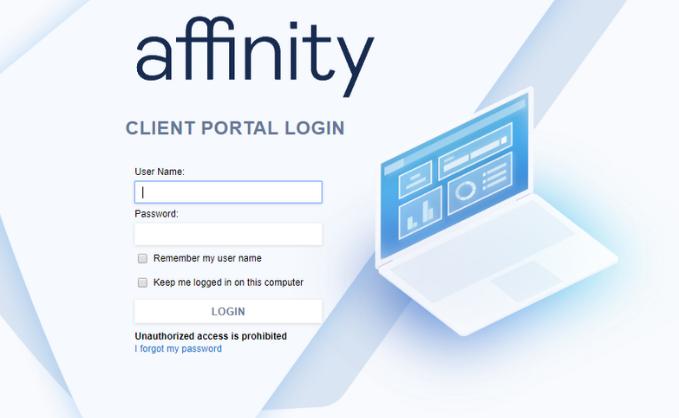 Affinity Client Portal