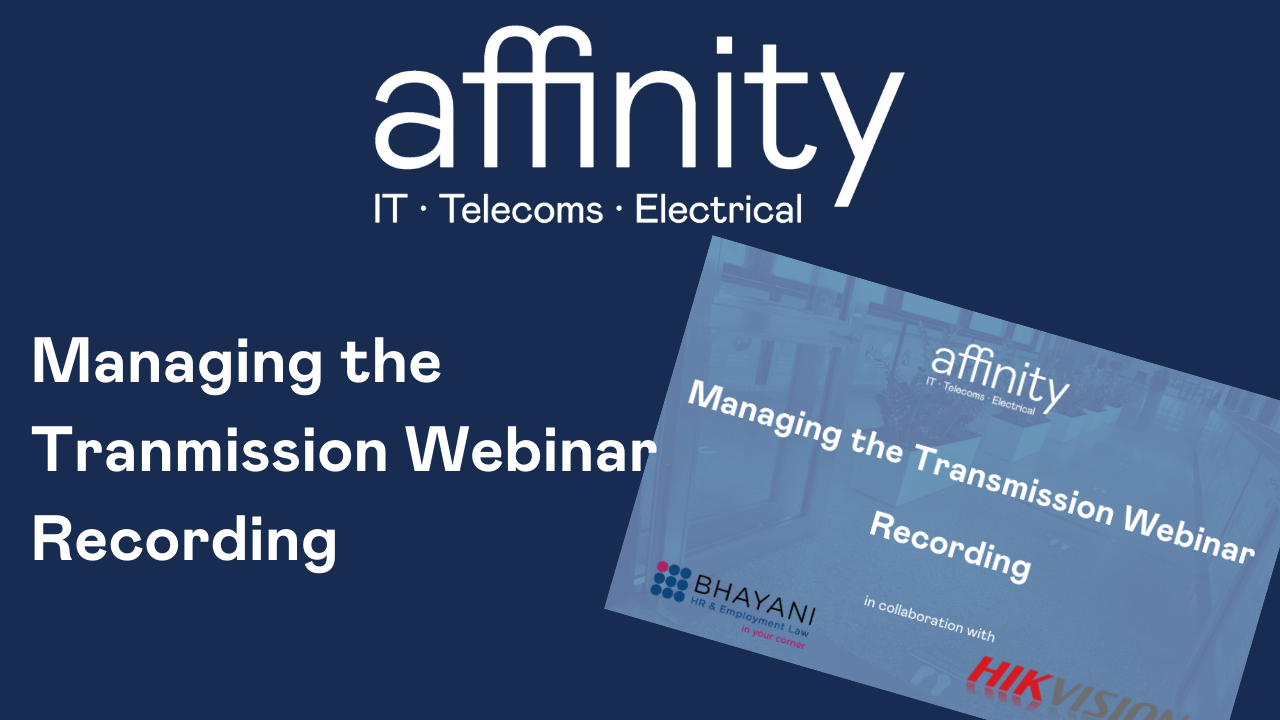 VIDEO: Managing the Transmission Webinar Recording logo